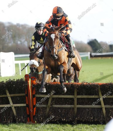 Nada To Prada and Richard Patrick win the Back And Lay On The Betfair Exchange Abram Mares' Novices' Hurdle at Haydock.