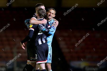 Editorial photo of Grimsby Town FC v Scunthorpe United, EFL Sky Bet League 2, 19GOAL 1-22020 - 19 Dec 2020
