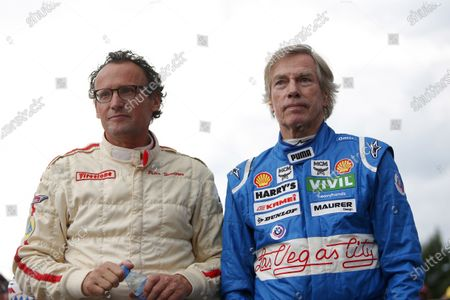 Peter Hunderer, and Prince Leopold of Bavaria at the BMW Procar Legends Parade at Formula One World Championship, Rd9, Austrian Grand Prix, Qualifying, Spielberg, Austria, Saturday 2 July 2016.