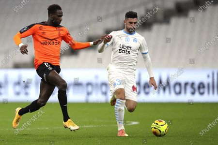 Editorial photo of Soccer League One, Marseille, France - 19 Dec 2020