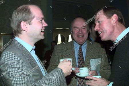The Conservative Party At The Grand Hotel In Eastbourne For A Two-day Bonding Session Shows William Hague With Charles Wardle & Andrew Robathan