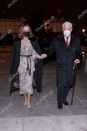 Isabel Preysler and Mario Vargas Llosa