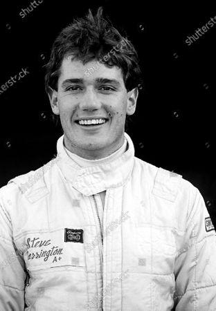 Steve Harrington (AUS). Formula Three Testing, Silverstone, England, 1985.