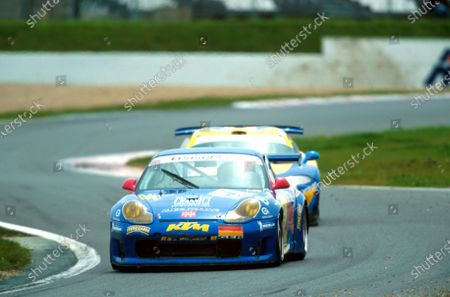 Fabio Mancini and Gianni Collini came 6th in the N-GT class and 15th overall FIA GT Championship - Magny Cours, France, 7 May 2001 BEST IMAGE