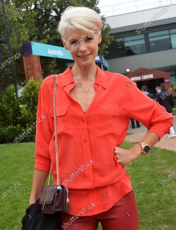 Kate Peck (AUS) Model. at Formula One World Championship, Rd1, Australian Grand Prix, Qualifying, Albert Park, Melbourne, Australia, Saturday 19 March 2016.