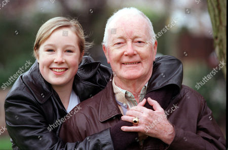 Editorial photo of Veteran Character Actor Don Fellows Has Pledged To Work For Nothing To Bring A Classic Broadway Musical 'how To Succeed In Business Without Really Trying' By Frank Loesser. He Is Pictured With His Daughter Georgie Will Also Appear In The Play.