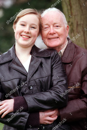 Stock Photo of Veteran Character Actor Don Fellows Has Pledged To Work For Nothing To Bring A Classic Broadway Musical 'how To Succeed In Business Without Really Trying' By Frank Loesser. He Is Pictured With His Daughter Georgie Will Also Appear In The Play.