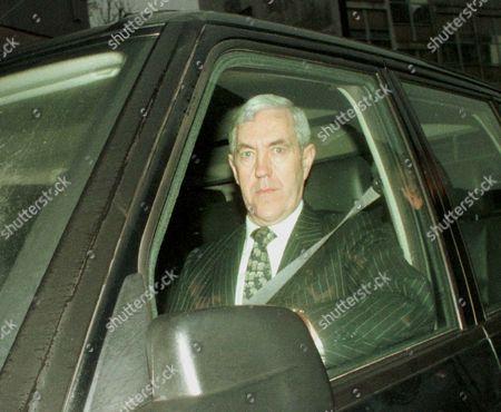 Sir Paul Condon Now Lord Condon Of Langton Green Arrives At New Scotland Yard.