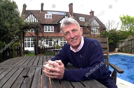 Actor Eric Richard At Home In Bromley Kent. He Has Played Sergeant Cryer For 17 Years In The Soap 'the Bill.' The Last Episode Goes Out Tonight..