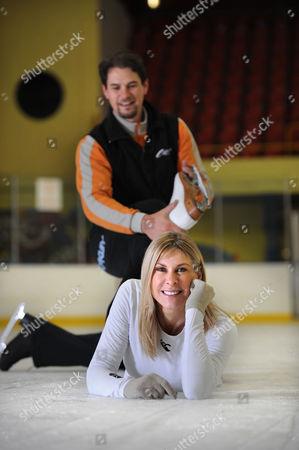 Sharron Davies with dance partner Pavel Aubrecht
