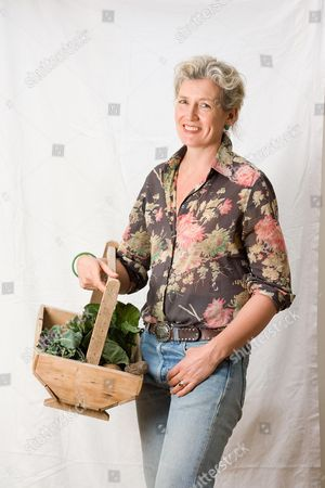 Editorial photo of Elspeth Thompson, gardening and interiors writer for The Sunday Telegraph, Britain - 23 Feb 2010