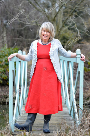 Editorial photo of Charlotte Bingham at home near Bruton, Somerset, Britain - 09 Mar 2010