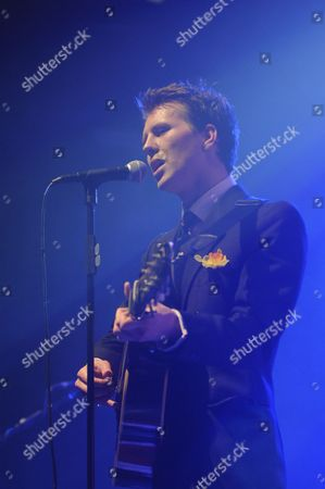 Editorial image of Alan Pownall in concert at the Shepherd Bush Empire, London, Britain - 30 Mar 2010