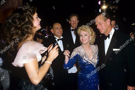 Brooke Shields, Sir Ben Kingsley, Debbie Reynolds and Prince Philip