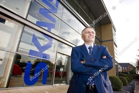 Editorial image of Mike Putnam, Business Unit President of Skanska UK at their headquarters in Rickmansworth, Hertfordshire, Britain - 05 Mar 2010