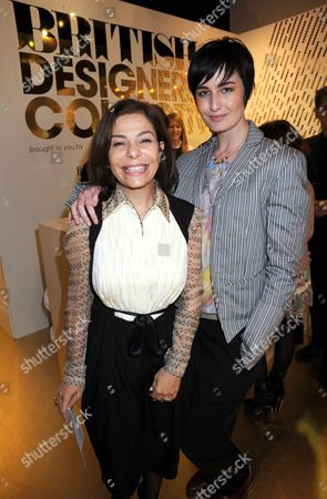 Stock Image of Desiree Bollier and Erin O'Connor