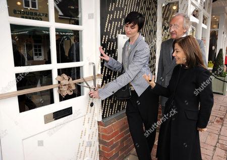 Stock Photo of Erin O'Connor, Desiree Bollier and Harold Tillman