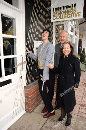 Stock Photo of Erin O'Connor, Desiree Bollier and Harold Tillman