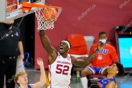 Editorial picture of Houston Baptist Oklahoma Basketball, Norman, United States - 19 Dec 2020
