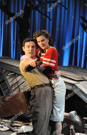 Michael Thomson ( Dick ) and Liz White ( Heavenly )