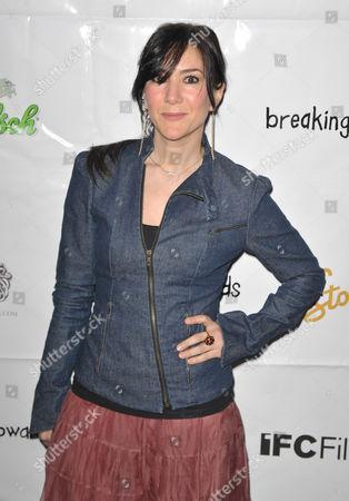 Editorial image of 'Breaking Upwards' film premiere, New York, America - 01 Apr 2010