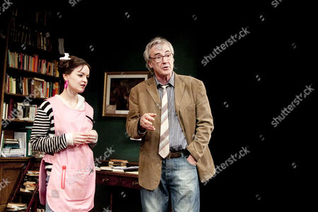 Laura Dos Santos (Rita) and Larry Lamb (Frank)