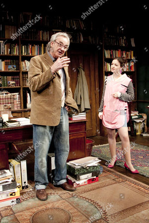 Larry Lamb (Frank) and Laura Dos Santos (Rita)