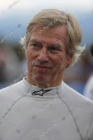 Stock Image of Prince Leopold of Bavaria at the BMW Procar Legends Parade at Formula One World Championship, Rd9, Austrian Grand Prix, Qualifying, Spielberg, Austria, Saturday 2 July 2016.