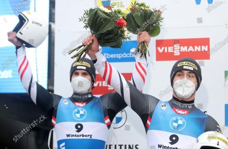 Editorial picture of Luge World Cup Winterberg, Germany - 20 Dec 2020