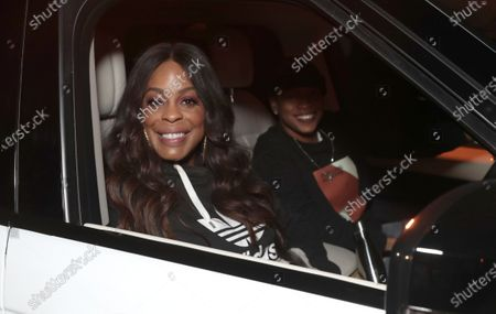 """Niecy Nash attends Amazon Studios """"One Night In Miami"""" Drive In Presented by Cadillac on Saturday, December 19 at the Calamigos Ranch."""