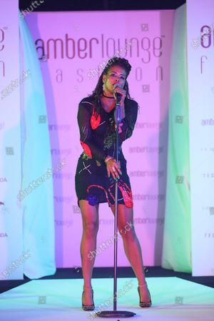 Kelis (USA) Singer at Amber Lounge Fashion Show at Formula One World Championship, Rd15, Singapore Grand Prix, Qualifying, Marina Bay Street Circuit, Singapore, Saturday 17 September 2016.