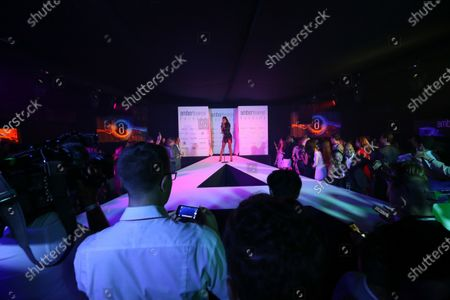 Kelis (USA) Singer in concert at Amber Lounge Fashion Show at Formula One World Championship, Rd15, Singapore Grand Prix, Qualifying, Marina Bay Street Circuit, Singapore, Saturday 17 September 2016.