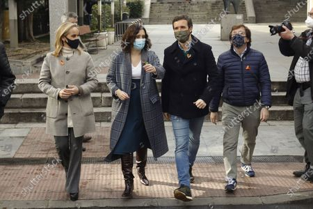 Editorial picture of Potests against new Education Law in Madrid, Spain - 20 Dec 2020