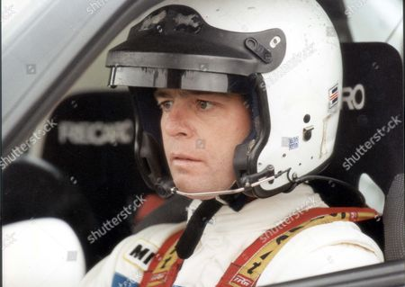 From Formula One To Rally Driving - Derek Warwick Fully Kitted Out With His Intercom. Pkt1748 - 124322