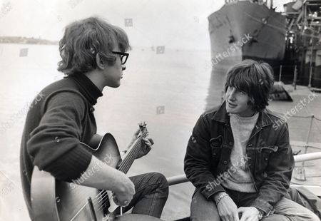 Singing Duo Peter And Gordon; Gordon Waller And Peter Asher (glasses).