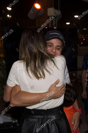 Wife of Felipe Massa (BRA) Williams Rafaela Bassi (BRA) on the occasion of the last Grand Prix of Felipe Massa (BRA) Williams at Formula One World Championship, Rd21, Abu Dhabi Grand Prix, Qualifying, Yas Marina Circuit, Abu Dhabi, UAE, Saturday 26 November 2016.