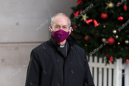 The archbishop of Canterbury, Justin Welby leaves the BBC Broadcasting House in central London. From today, London, the south-east and the east of England entered tier 4 restrictions, similar to the last national lockdown, with an order to stay-at-home, ban on household mixing, closing of all non-essential retail and businesses and cancellation of the planned relaxing of rules over five days around Christmas.