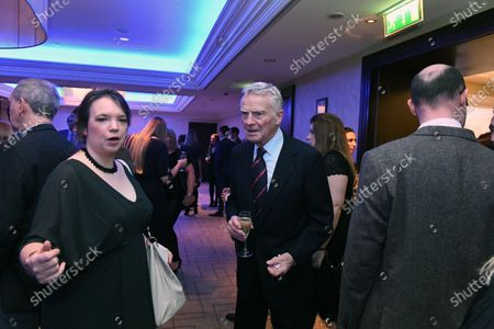 Max Mosley (GBR) and Carloline Reid (GBR) Formula Money at Zoom F1 Charity Auction and Gala Reception, InterContinental London Park Lane, London, England, 3 February 2017.