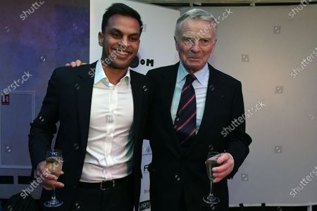 Sanesh Balasingam (SIN) Rewind Magazine Singapore and Max Mosley (GBR) at Zoom F1 Charity Auction and Gala Reception, InterContinental London Park Lane, London, England, 3 February 2017.