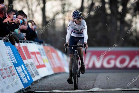 Editorial photo of Cyclocross World Cup Namur, Namur, Belgium - 20 Dec 2020