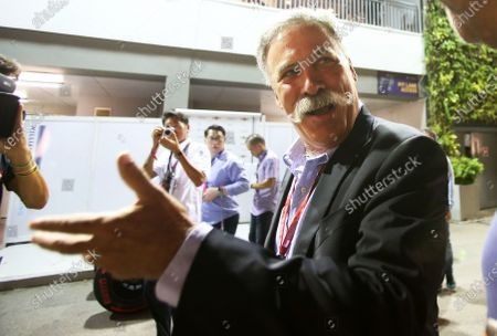 Chase Carey (USA) Vice Chairman of 21st Century Fox Media and Chairman of the Formula One Group at Formula One World Championship, Rd15, Singapore Grand Prix, Practice, Marina Bay Street Circuit, Singapore, Friday 16 September 2016. BEST IMAGE