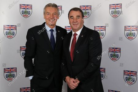 Tony Jardine (GBR) and Nigel Mansell (GBR) at BRDC Awards, Great Connaught Rooms, London, 5 December 2016.