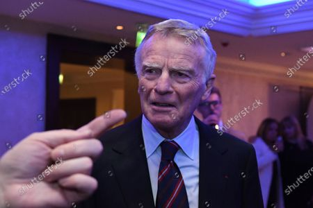 Max Mosley (GBR) at Zoom F1 Charity Auction and Gala Reception, InterContinental London Park Lane, London, England, 3 February 2017.