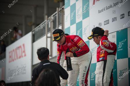 Chen Weian (CHN) Tianshi Racing Team and Jiang Xin (Kane) (CHN) KCMG at Audi R8 LMS Cup, Rd3 and Rd4, Suzuka, Japan, 10-11 June 2017.