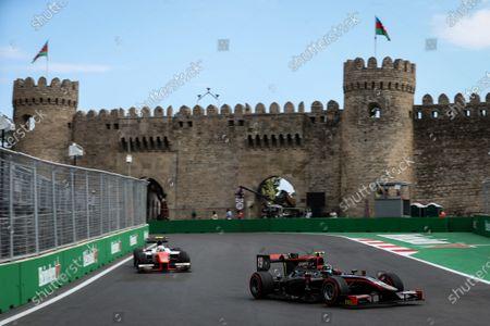 Johnny Cecotto (VEN) Rapax at Formula Two Championship, Rd4, Baku City Circuit, Baku, Azerbaijan, 23-25 June 2017.
