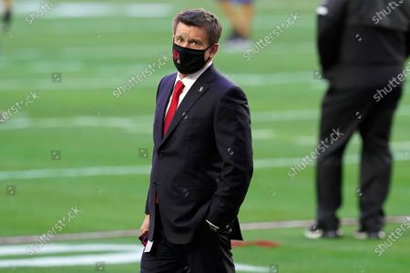 Arizona Cardinals owner Michael Bidwill prior to an NFL football game against the Philadelphia Eagles, in Glendale, Ariz