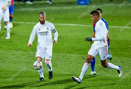 Editorial photo of Soccer: La Liga -  SD Eibar SAD v Real Madrid CF, Vizcaya, Spain - 20 Dec 2020