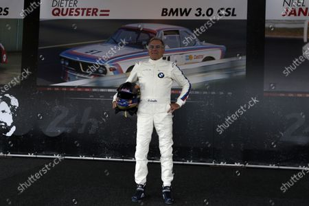 Stock Image of Dieter Quester (GER) at the Legends Parade at Formula One World Championship, Rd9, Austrian Grand Prix, Qualifying, Spielberg, Austria, Saturday 8 July 2017.