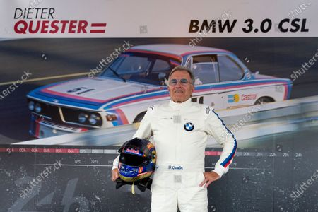 Stock Photo of Dieter Quester (GER) at the Legends Parade at Formula One World Championship, Rd9, Austrian Grand Prix, Qualifying, Spielberg, Austria, Saturday 8 July 2017.