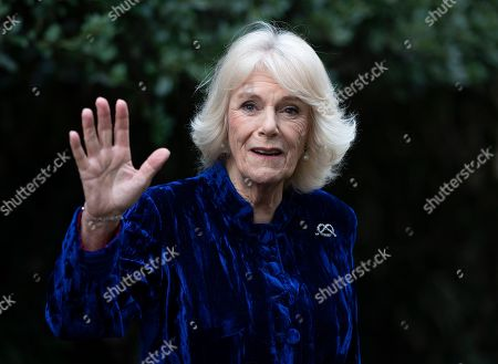 The Duchess of Cornwall virtually decorates the Clarence House Christmas tree, London